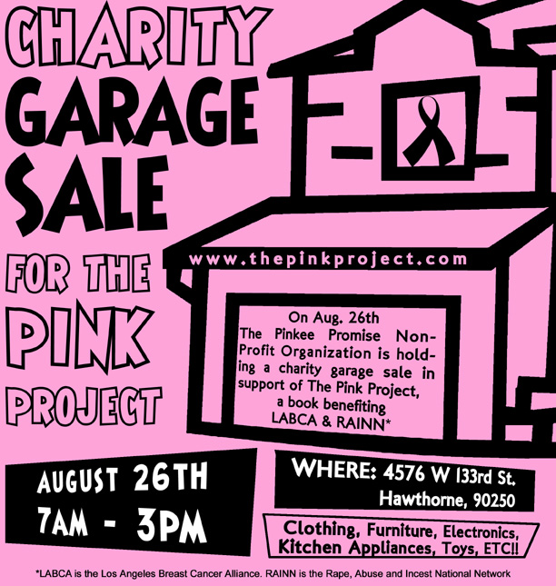 The Pink Project Garage Sale